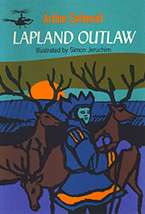 Lapland Outlaw Book Jacket Design