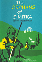 The Orphans of Simitra Book Jacket Design