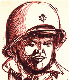 Korean War 5th RTC Sketches